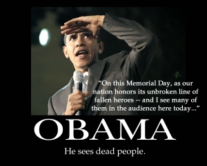 Obama Sees Dead People